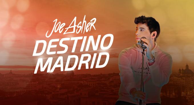 JOE ASHER - DESTINO MADRID EN LA ESTACIÓN