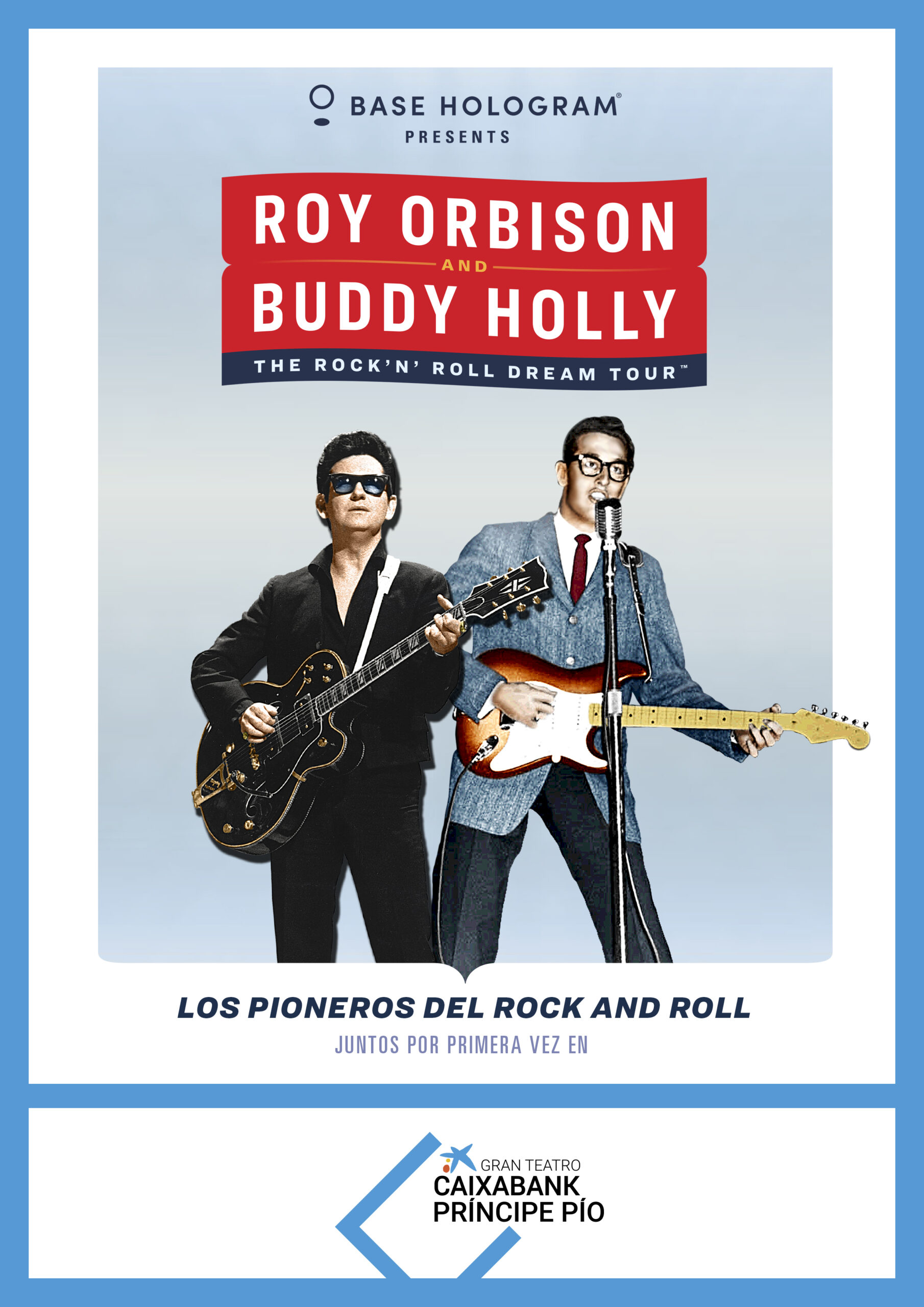 Base Hologram Present: Roy Orbison & Buddy Holly