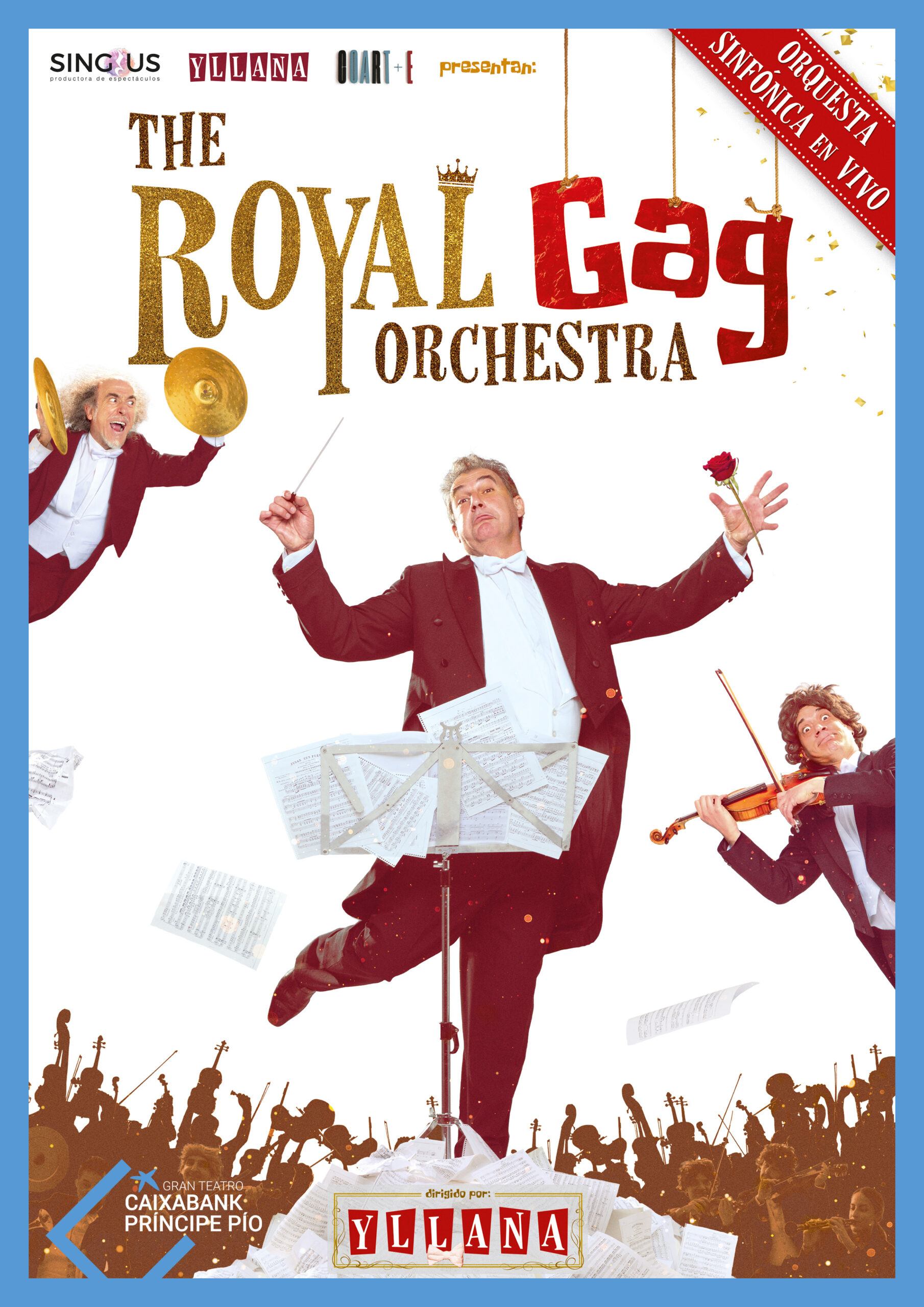 THE ROYAL GAG ORCHESTRA - YLLANA