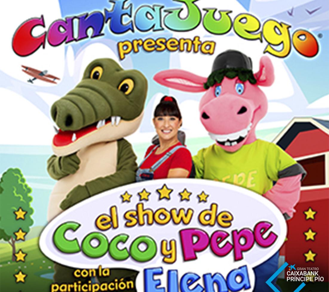 CANTAJUEGO PRESENTA: EL SHOW DE COCO Y PEPE EN EL GRAN TEATRO CAIXABANK PRÍNCIPE PÍO