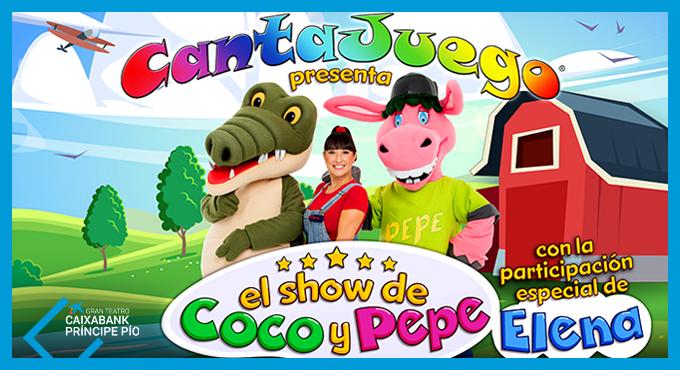 CANTAJUEGO EN EL GRAN TEATRO CAIXABANK PRÍNCIPE PÍO
