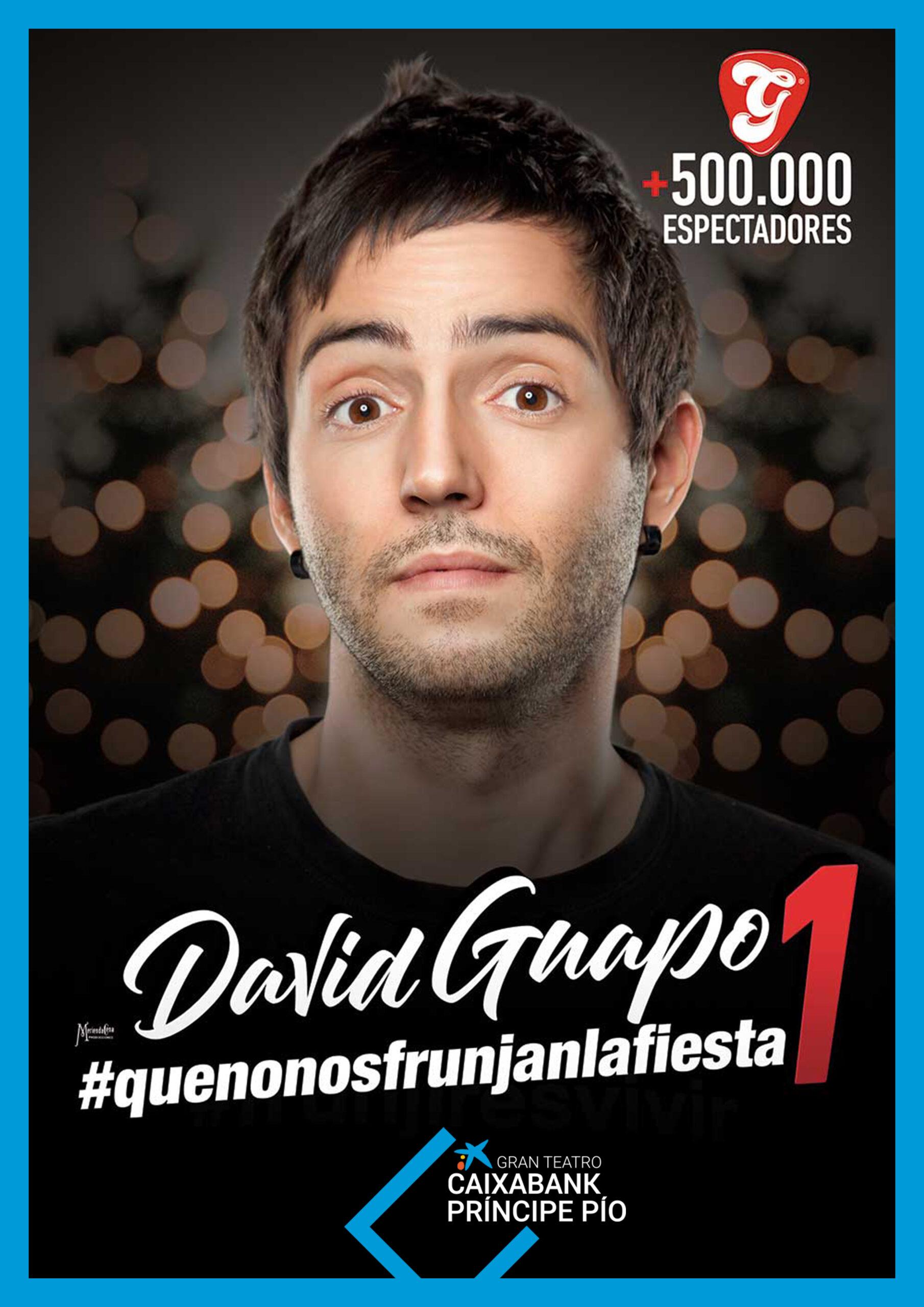 DAVID GUAPO EN LA ESTACIÓN GRAN TEATRO CAIXABANK PRINCIPE PIO